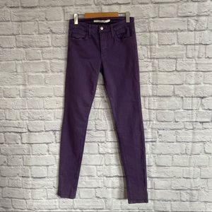 JOE'S JEANS Purple Skinny Jeans